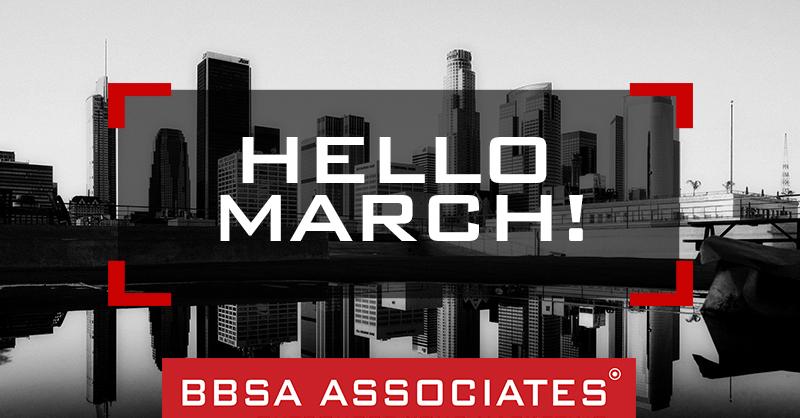 BBSA Hello March