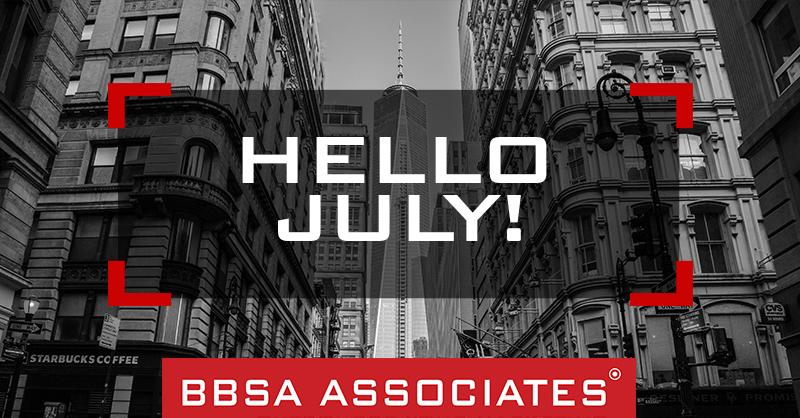 BBSA Hello July