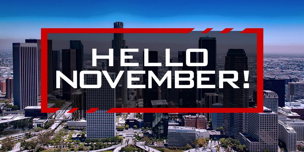 BBSA Hello November