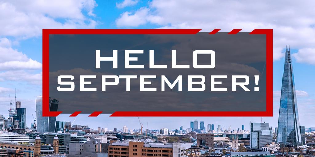 BBSA Hello September